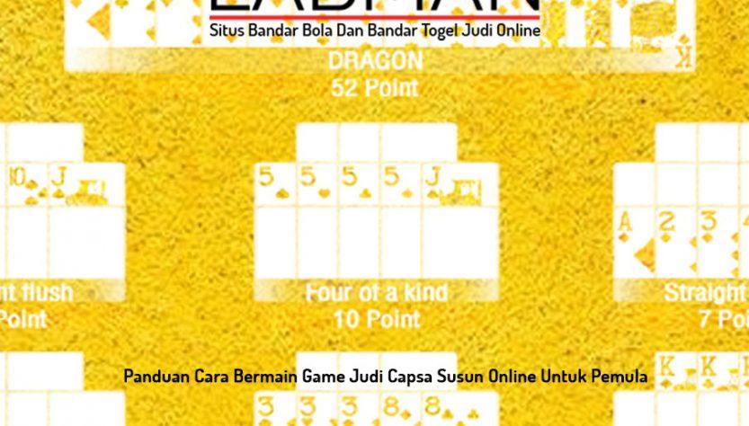 Capsa Susun - Situs Bandar Bola Dan Bandar Togel Judi Online - LABMAN